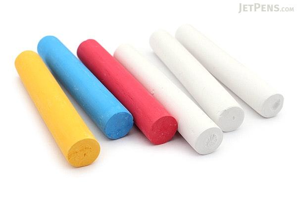 Umajirushi DC Chalk DX - 4 Colors - Pack of 6 - UMAJIRUSHI DX350