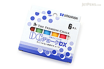 Umajirushi DC Chalk DX - 6 Colors - Pack of 6 - UMAJIRUSHI DX352