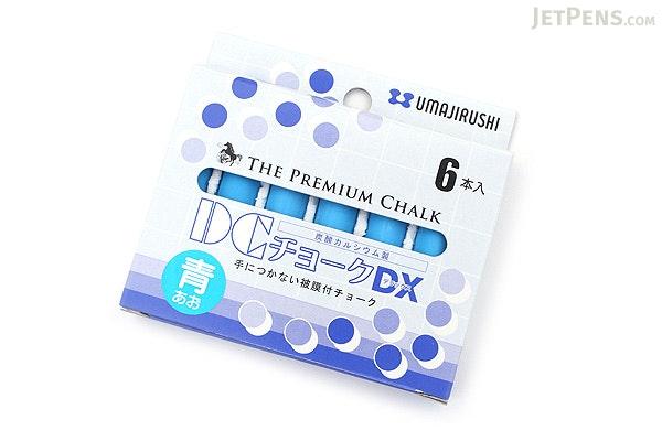 Umajirushi DC Chalk DX - Blue - Pack of 6 - UMAJIRUSHI DX354