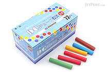 Umajirushi DC Chalk DX - 5 Colors - Pack of 72 - UMAJIRUSHI DX502