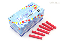 Umajirushi DC Chalk DX - Red - Pack of 72 - UMAJIRUSHI DX503
