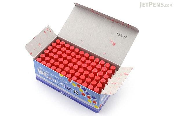 Umajirushi DC Chalk DX - Red - Pack of 72 - UMAJIRUSHI DX503