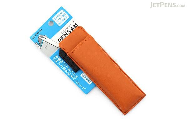 King Jim Pensam Pen Case No. 2001 - Slim - Orange - KING JIM NO.2001 ORANGE