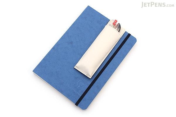 King Jim Pensam Pen Case No. 2001 - Slim - White - KING JIM NO.2001 WHITE