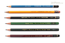 JetPens Wooden Pencil Sampler - H - JETPENS JETPACK-040