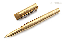 Karas Kustoms Render K Pen - Brass - 0.5 mm - Black Ink - KARAS KK-5017-BRASS