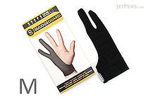 SmudgeGuard2 SG2 2-Finger Glove - Cool Black - Medium - SMUDGE GUARD SG2-CB-M