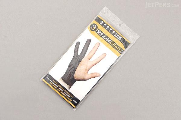 SmudgeGuard2 SG2 2-Finger Glove - Cool Black - Extra Large - SMUDGE GUARD SG2-CB-XL