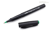 Shachihata Artline Ergoline Rollerball Pen - 0.5 mm - Green - SHACHIHATA K-4200 GREEN