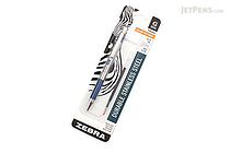 Zebra G-301 Gel Pen - 0.7 mm - Blue Grip - Blue Ink - ZEBRA 41321