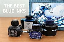 Blue Fountain Pen Ink Comparison