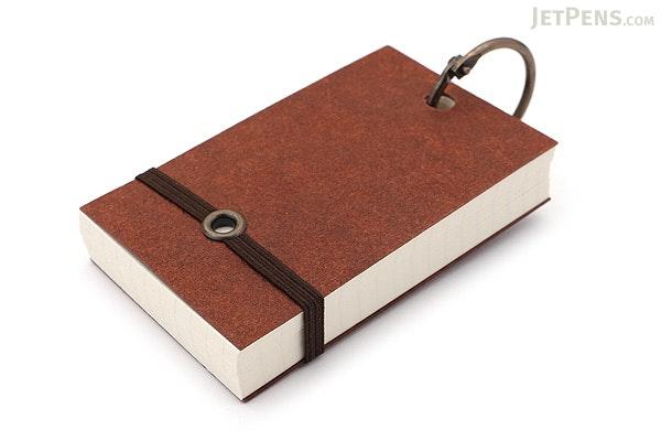 Raymay Card Memo on Ring - Medium - Brown - RAYMAY WD31 C