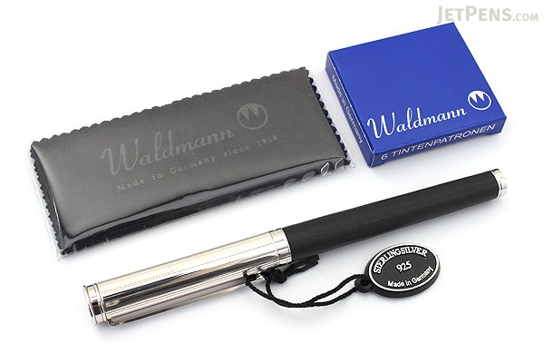 Waldmann Solon Fountain Pen - Medium Nib - WALDMANN 0421