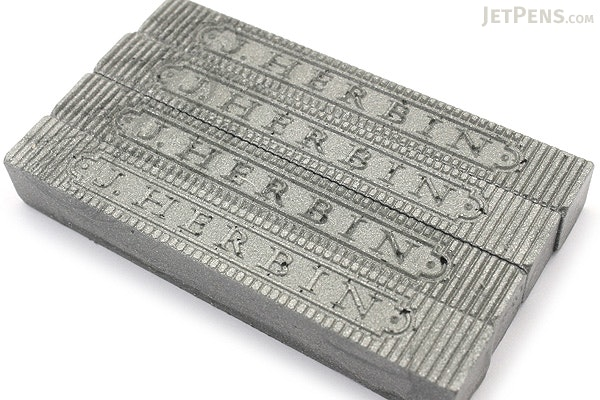 J. Herbin Supple Sealing Wax - Silver - Pack of 4 - J. HERBIN H331/05