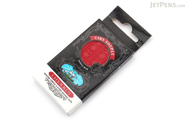 J. Herbin Supple Sealing Wax - Red - Pack of 4 - J. HERBIN H331/20