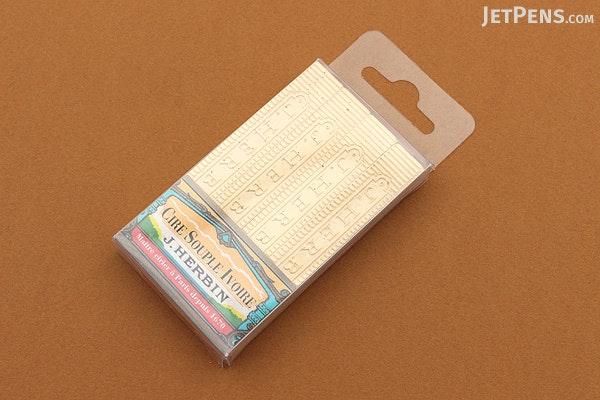J. Herbin Supple Sealing Wax - Ivory - Pack of 4 - J. HERBIN H331/51