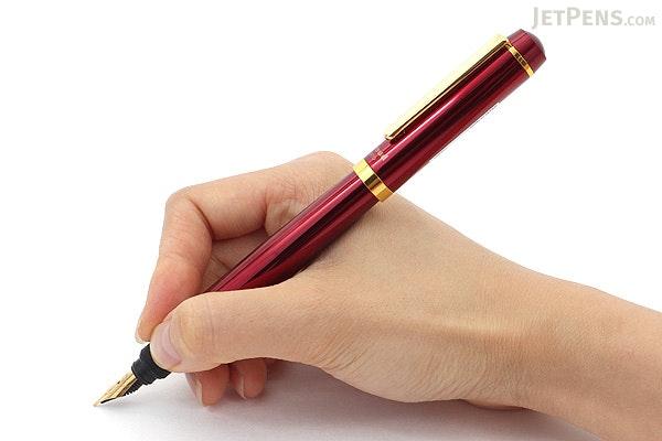 Ohto Proud Fountain Pen - Wine - Fine Nib - OHTO FF-15PD-WI