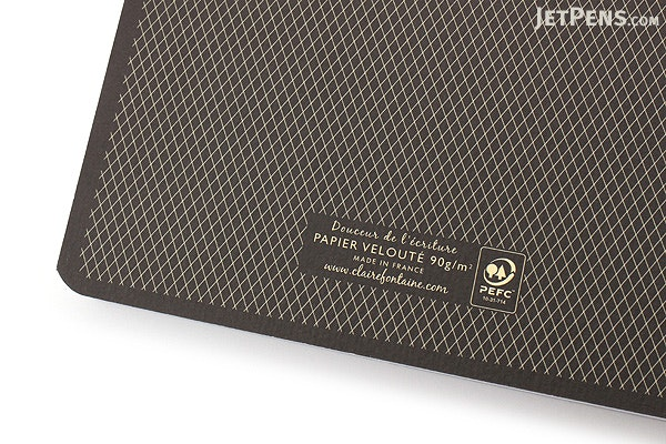 Clairefontaine Collection 1951 Clothbound Notebook - A5 - Lined - Black - CLAIREFONTAINE 195246C