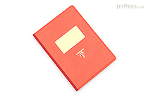 Clairefontaine Collection 1951 Clothbound Notebook - A5 - Lined - Red Coral - CLAIREFONTAINE 195446C