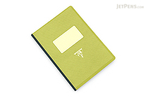 Clairefontaine Collection 1951 Clothbound Notebook - A5 - Lined - Green - CLAIREFONTAINE 195546C