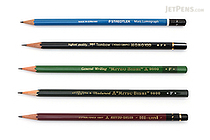 JetPens Wooden Pencil Sampler - F - JETPENS JETPACK-039