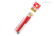 Pilot FriXion Ball Slim Multi Pen Refill - 0.38 mm - Red - Pack of 3 - PILOT LFBTRF30UF3R