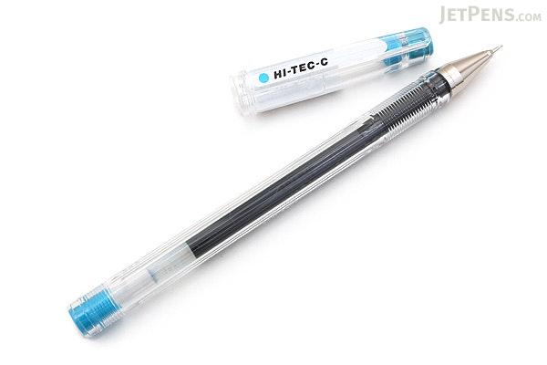 Pilot Hi-Tec-C Gel Pen - 0.3 mm - Light Blue - PILOT LH-20C3-LB