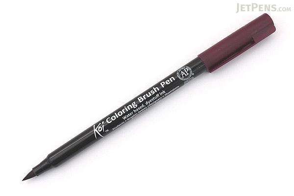 Sakura Koi Coloring Brush Pen - Burgundy (22) - SAKURA XBR-22