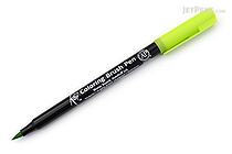 Sakura Koi Coloring Brush Pen - Yellow Green (27) - SAKURA XBR-27