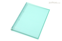 Maruman Kurufit Binder - B5 - 26 Rings - Light Blue - MARUMAN F020-52