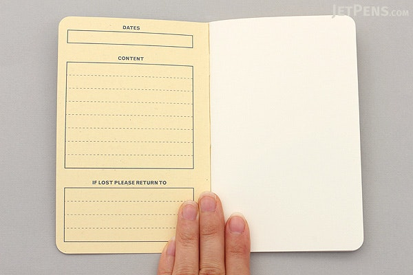 Story Supply Co. Pocket Staple Notebook - Blank - Pack of 3 - STORY SUPPLY CO SSC003