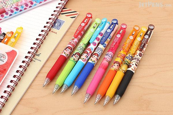 Zebra Sarasa Clip Fujiya Scented Gel Pen - 0.5 mm - 4 Color Set A - Limited Edition - ZEBRA JJ29-FJ-4C-A
