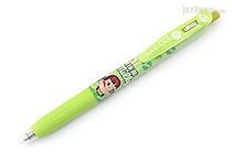 Zebra Sarasa Clip Fujiya Scented Gel Pen - 0.5 mm - Maccha Milky - Light Green - Limited Edition - ZEBRA JJ29-FJ-LG