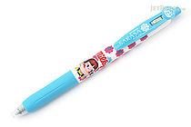 Zebra Sarasa Clip Fujiya Scented Gel Pen - 0.5 mm - Milky - Light Blue - Limited Edition - ZEBRA JJ29-FJ-LB