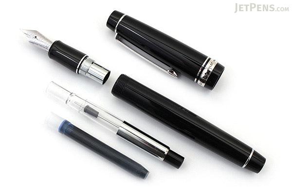 Pilot Custom 912 Fountain Pen - Black Body - Extra Fine Nib - PILOT 71615