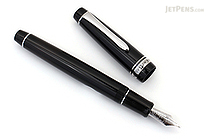 Pilot Custom 912 Fountain Pen - Black Body - Music Nib - PILOT 71617