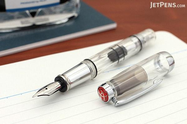 TWSBI Diamond Mini AL Silver Fountain Pen - Medium Nib - TWSBI M7445020