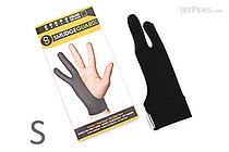 SmudgeGuard2 SG2 2-Finger Glove - Cool Black - Small - SMUDGE GUARD SG2-CB-S
