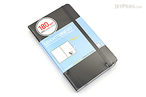 Leuchtturm1917 Pocket Sketchbook - A6 - Black - LEUCHTTURM1917 344661