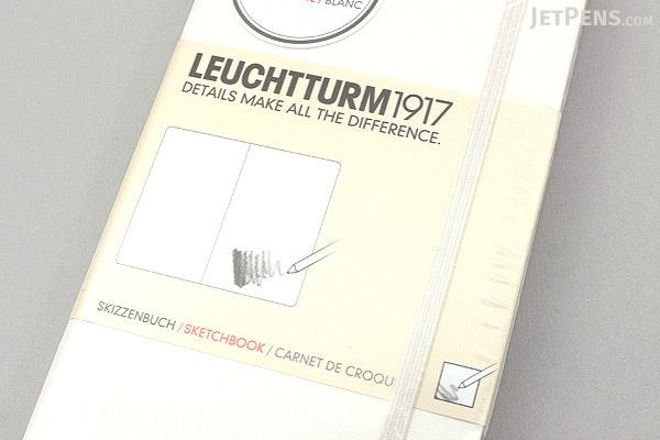 Leuchtturm1917 Pocket Sketchbook A6 White Jetpens Com