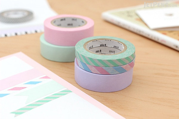 MT Solids Washi Tape - Pastel Blue - 15 mm x 10 m - MT MT01P306Z