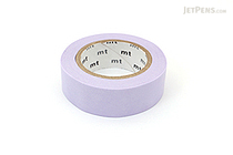 MT Solids Washi Tape - Pastel Purple - 15 mm x 10 m - MT MT01P305Z