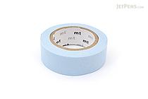 MT Solids Washi Tape - Pastel Blue - 15 mm x 10 m - MT MT01P306Z