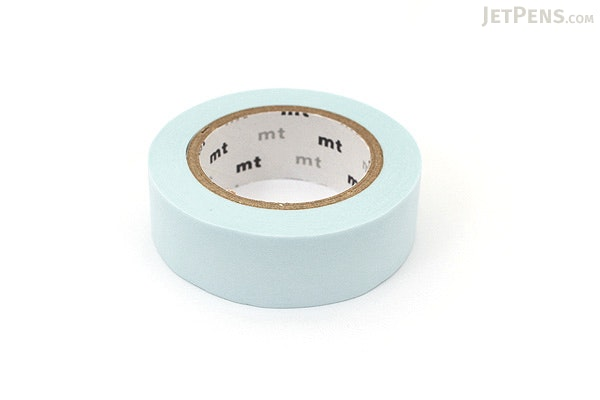 MT Solids Washi Tape - Pastel Powder Blue - 15 mm x 10 m - MT MT01P307Z