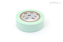 MT Solids Washi Tape - Pastel Mint - 15 mm x 10 m - MT MT01P308Z