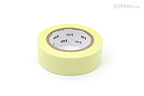 MT Solids Washi Tape - Pastel Lime - 15 mm x 10 m - MT MT01P310Z