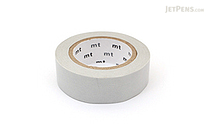 MT Solids Washi Tape - Pastel Gray - 15 mm x 10 m - MT MT01P312Z