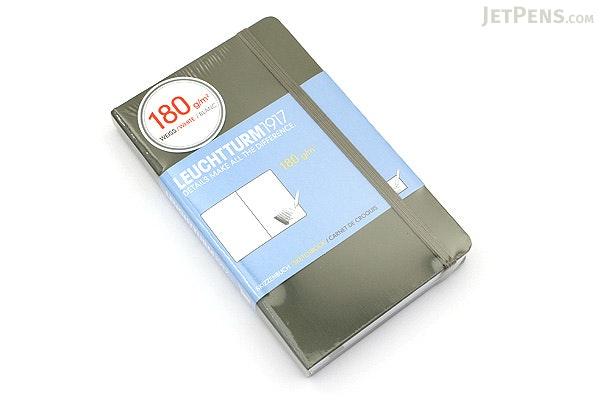 Leuchtturm1917 Pocket Sketchbook - A6 - Army - LEUCHTTURM1917 349384