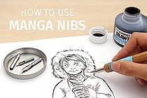 How to Use Manga Pen Nibs