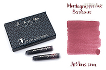 Montegrappa Bordeaux Ink - 8 Cartridges - MONTEGRAPPA IA00C0ED
